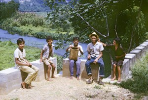10. Five kids on a country road_I