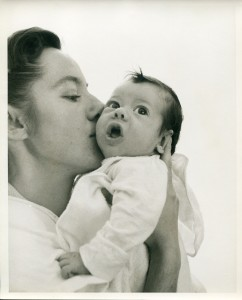 22a. Kissing the baby